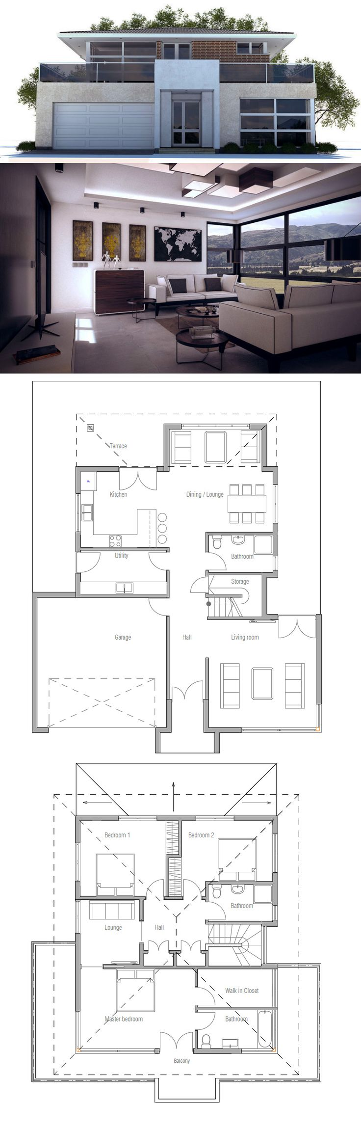 House Plan  ~ Great pin! For Oahu architectural design visit http://ownerbuiltdesign.com
