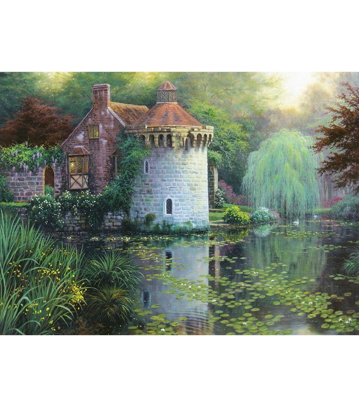 Candamar Scotney Castle Garden Counted Cross Stitch KitCandamar Scotney Castle Garden Counted Cross Stitch Kit,