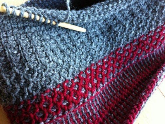 26 best Tunisian Crochet images on Pinterest | Tunisian crochet ...