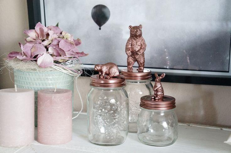 DIY Figuren Gläser - Als Geschenkidee oder schöne Art kleine Dinge zu verstauen