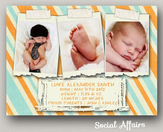 47 best Birth Announcements Shower Invites images – Madison Wi Birth Announcements