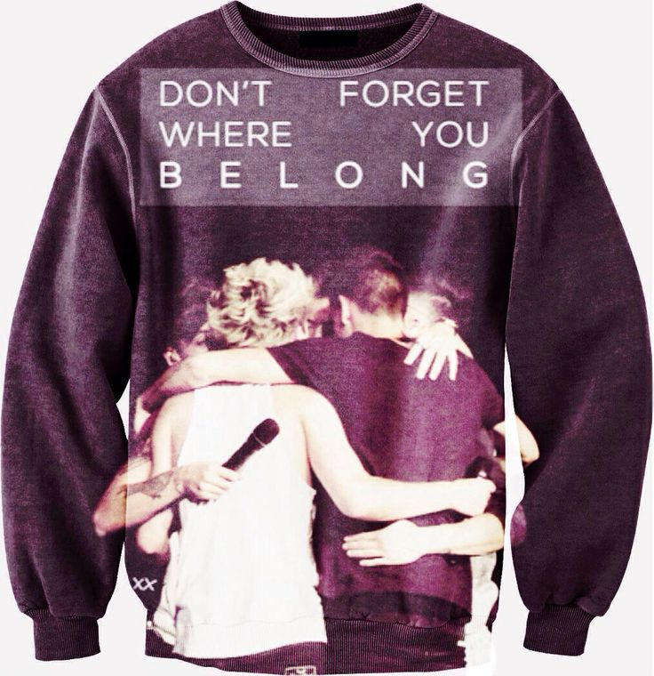 Okay listen I need this so so so so so so so soooo bad my birthday is coming up and my favorite one direction song is don't forget where you belong just please! I really want this!