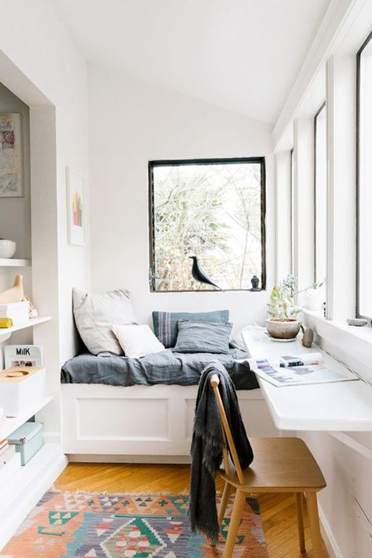 san francisco sunroom with daybed via a cup of jo blog. / sfgirlbybay
