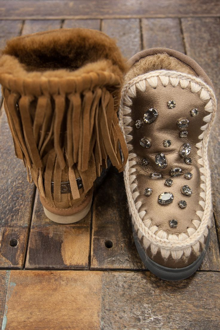 Mou boots with stones <3