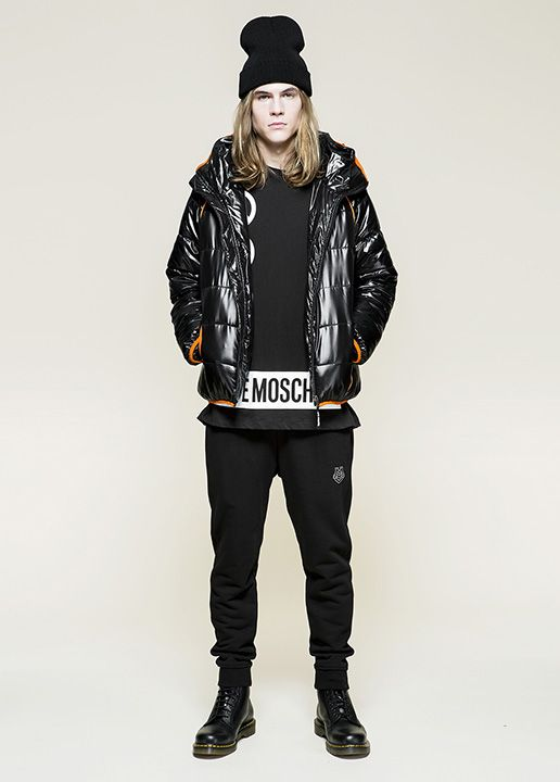 Love Moschino Uomo Fall/Winter 2015 pre-collection - See more on www.moschino.com