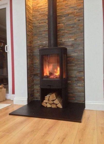 25+ Ideas For Wood Burning Fireplace Corner Log Burner