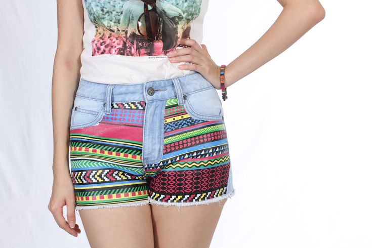 @roressclothes closet ideas #women fashion Shorts with Tribal Print