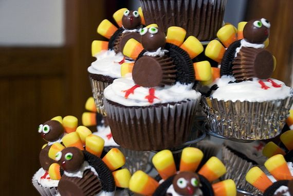 Thanksgiving Crafts for Adults | Thanksgiving Holiday Cupcakes Party Ideas | Family Holiday