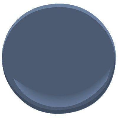benjamin moore kensington blue 840 for formal dining room. Black Bedroom Furniture Sets. Home Design Ideas