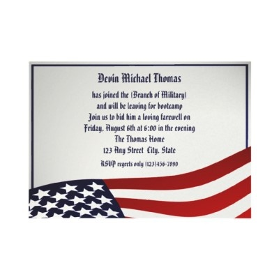 Best Army Going Away Invitations Images On   Military