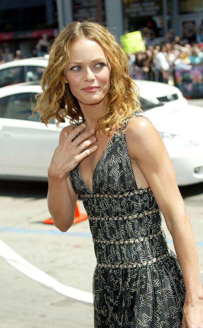 Vanessa Paradis en 2005 …