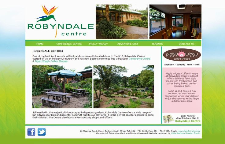 Little Blackbird Design Studio: Brand New #Website Designed for #Robyndale Centre