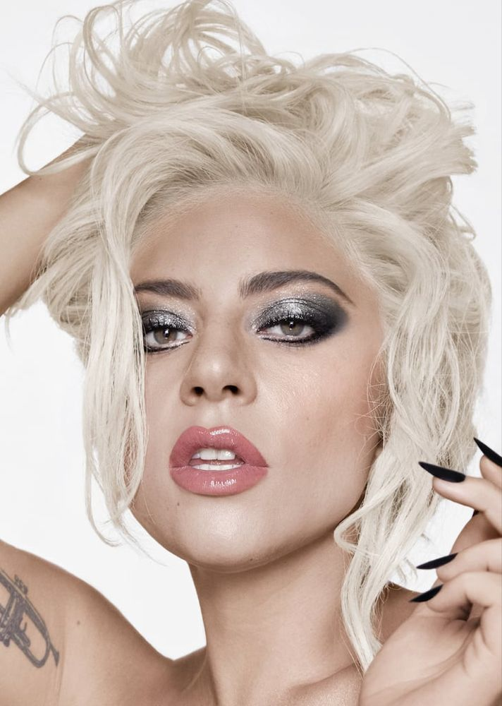 How To Recreate An Iconic Lady Gaga Beauty Look Straight From Her Makeup Artist Lady Gaga Makeup Lady Gaga Makeup Tutorial Lady Gaga Pictures