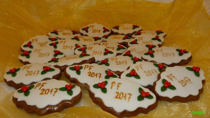 gingerbread  PF 2017 - medovníčky - PF 2017