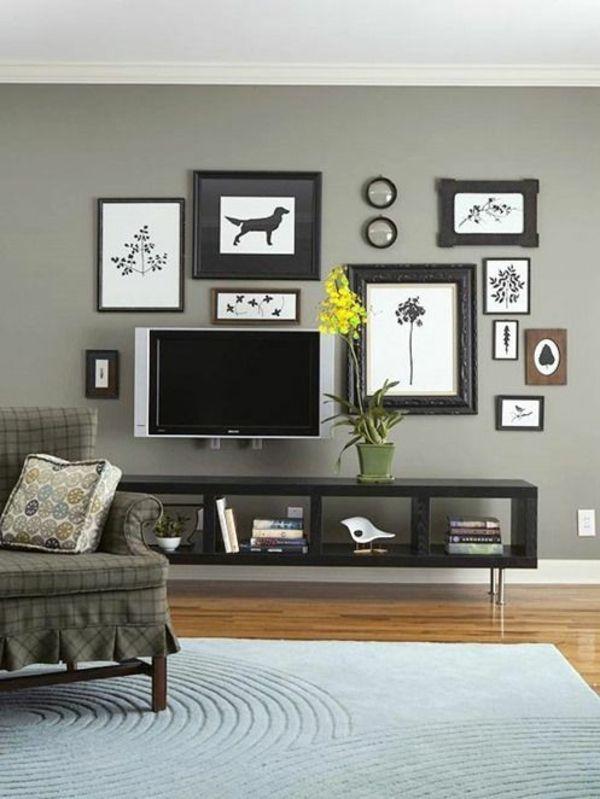 25+ great ideas about tv wand wohnzimmer on pinterest, Modern Dekoo