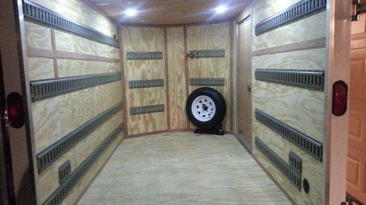 Spare Tire Carrier For E Track Rackem Trailer Cargo