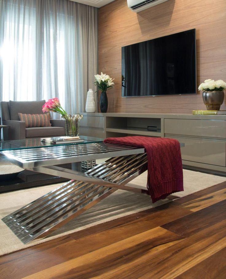 Sala de estar com Recamier de Marília Veiga - 86662 no Viva Decora