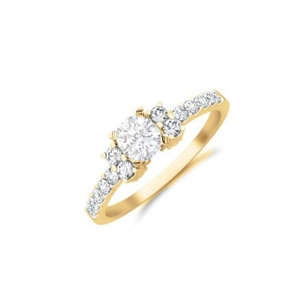 Popular Discount Engagement Rings Diamond