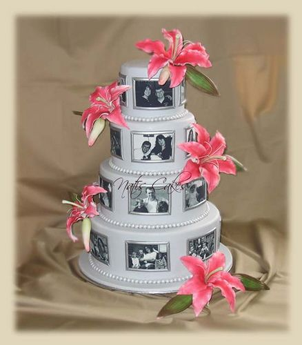Edible Printable Paper Pictures for your Wedding Cake