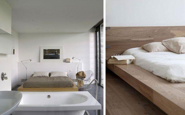 17 mejores ideas sobre cama japonesa en pinterest dise o - Decoracion de camas ...