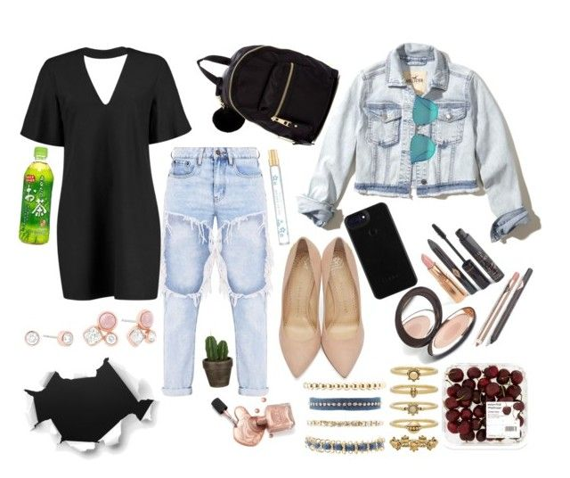 """""""Untitled #81"""" by jenna-coops on Polyvore featuring Boohoo, Charlotte Olympia, Madden Girl, Hollister Co., John Lewis, Marc Jacobs, Luv Aj, Charlotte Russe and Michael Kors"""