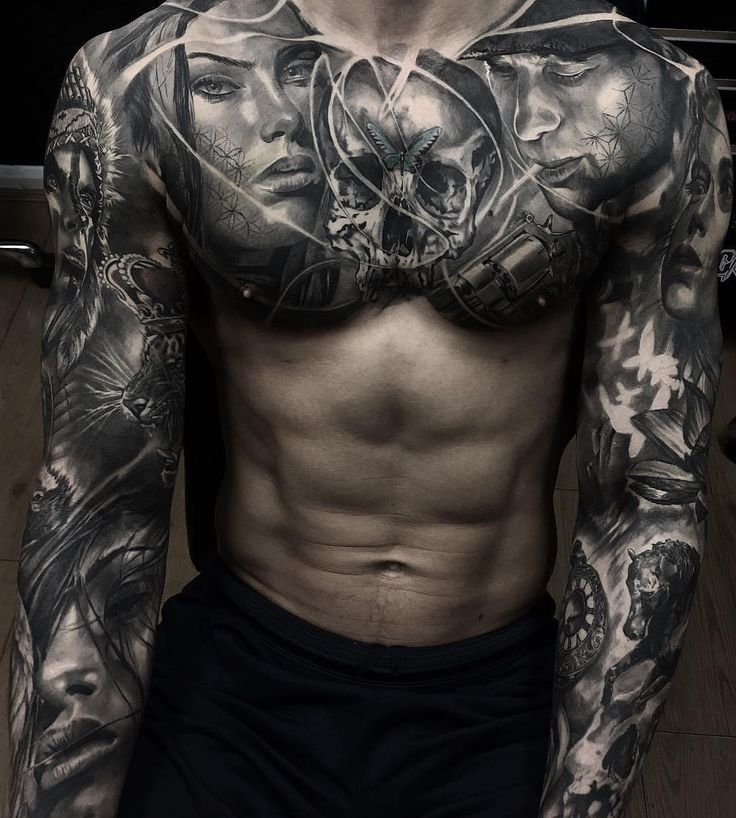 39 best Viking Warrior Tattoos Sleeves images on Pinterest ...