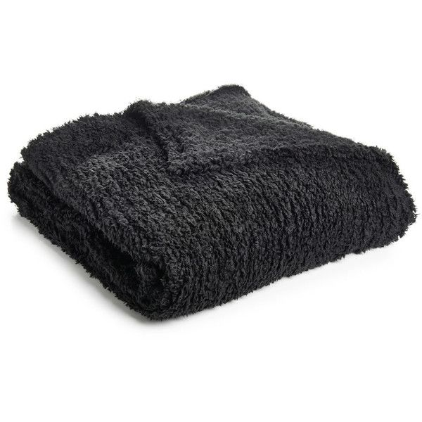 Wilko Teddy Throw Black 200 x 200cm ($18) ❤ liked on Polyvore featuring home, bed & bath, bedding, blankets, polyester bedding, black throw, teddy bear bedding, polyester throw and polyester blanket