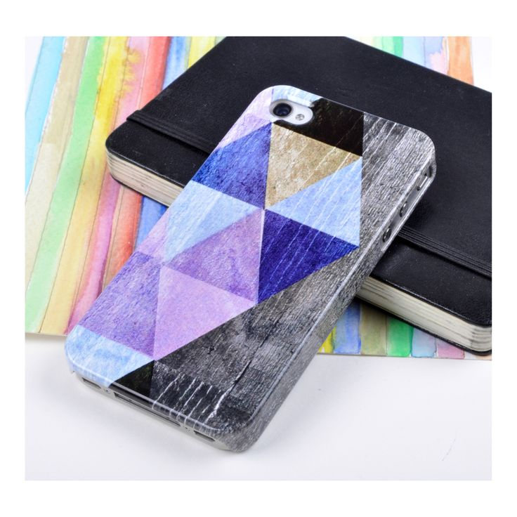 'Coloured Triangles' Case by Sparrow Studios