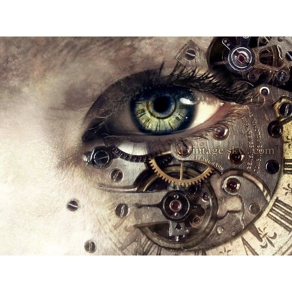 ★ Eye 20 ★ ❤ liked on Polyvore featuring eyes, steampunk, backgrounds, pictures, art and fillers