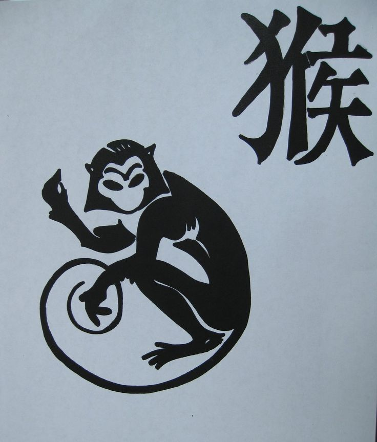 Year by year, the monkey's mask reveals the monkey