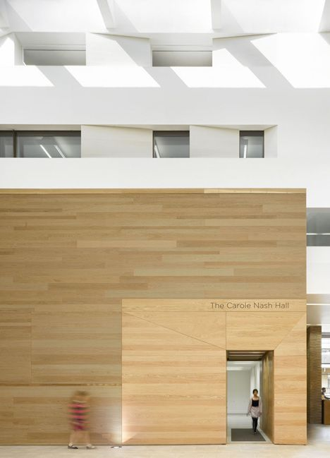 Chetham's School of Music by local architects Stephenson (ISA Studio), Manchester City, UK