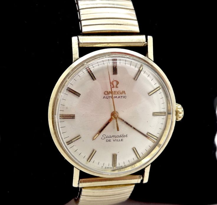 ICONIC LATE 60'S OMEGA SEAMASTER DEVILLE 550 AUTOMATIC 17J GF WRISTWATCH,RUNS #Omega #Casual