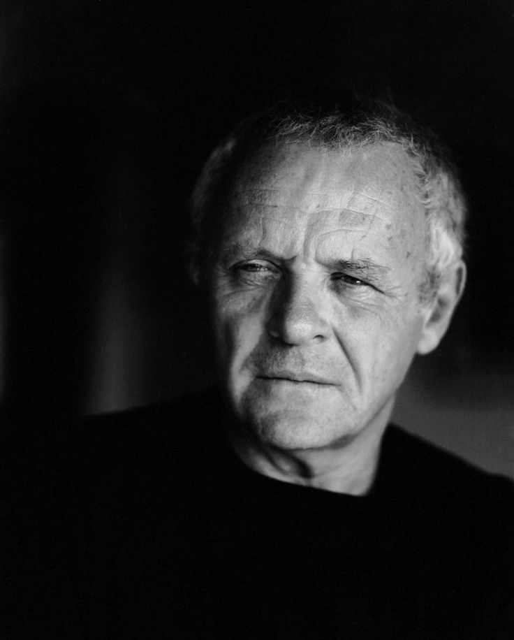 Anthony Hopkins - some men get hotter as they age;)