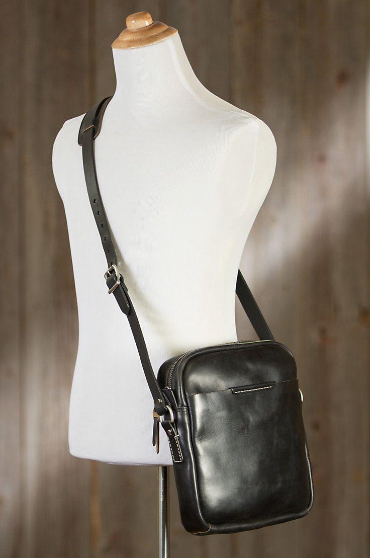 Coronado Leather Messenger Bag   Overland Sheepskin