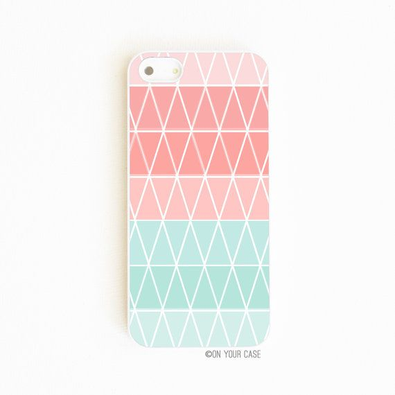 iPhone 5 Case Geometric Cupcake by onyourcasestore on Etsy, $17.99