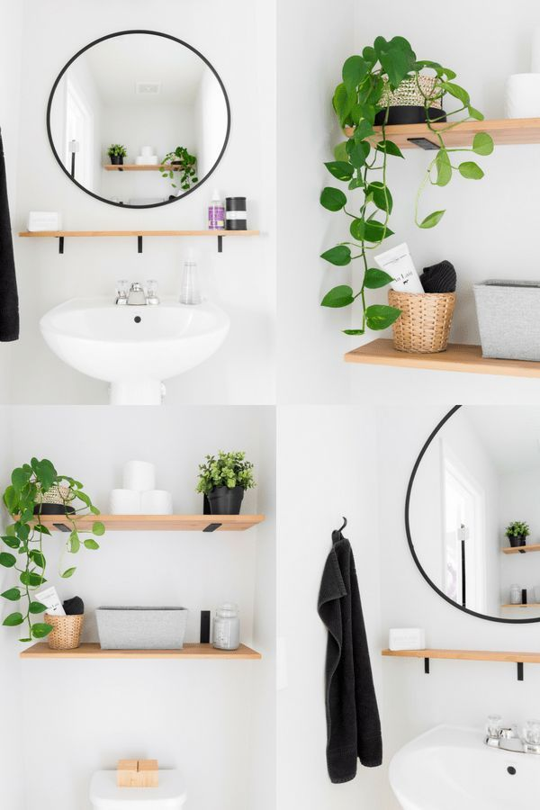 Tiny Powder Room Decorating Ideas: Modern Half Bath Updates for $100 – New House