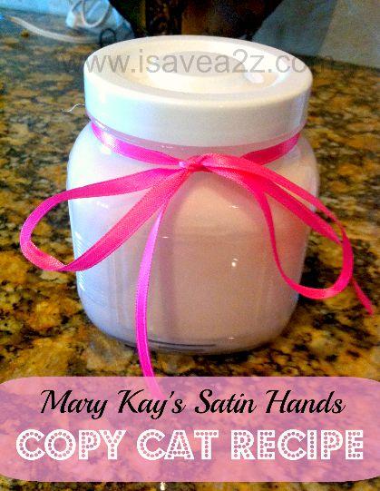 Mary Kays Satin Hands Copycat Recipe