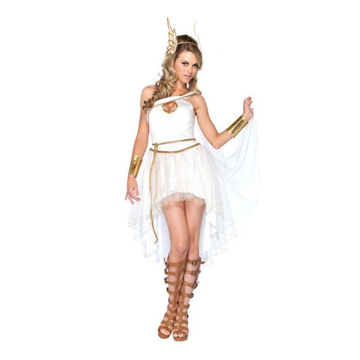 Hermes Gudinna Maskeraddräkt
