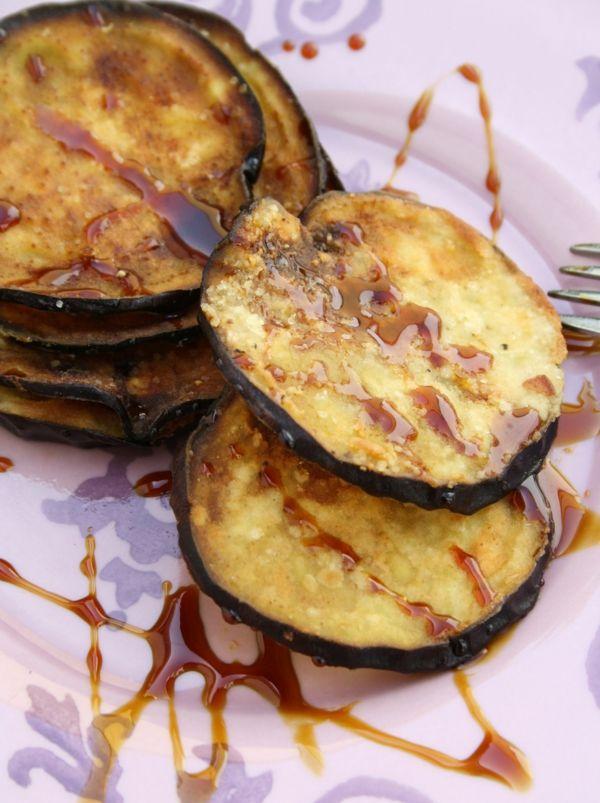 auberginen zubereiten fritiert