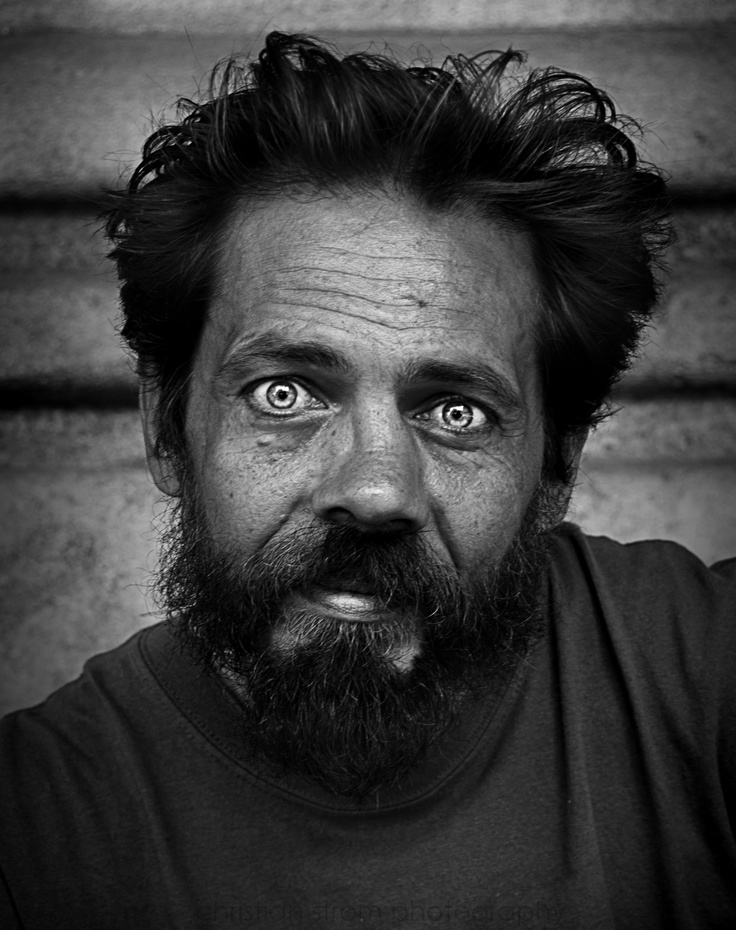 Photo: Christian Strøm Homeless Man in Barcelona