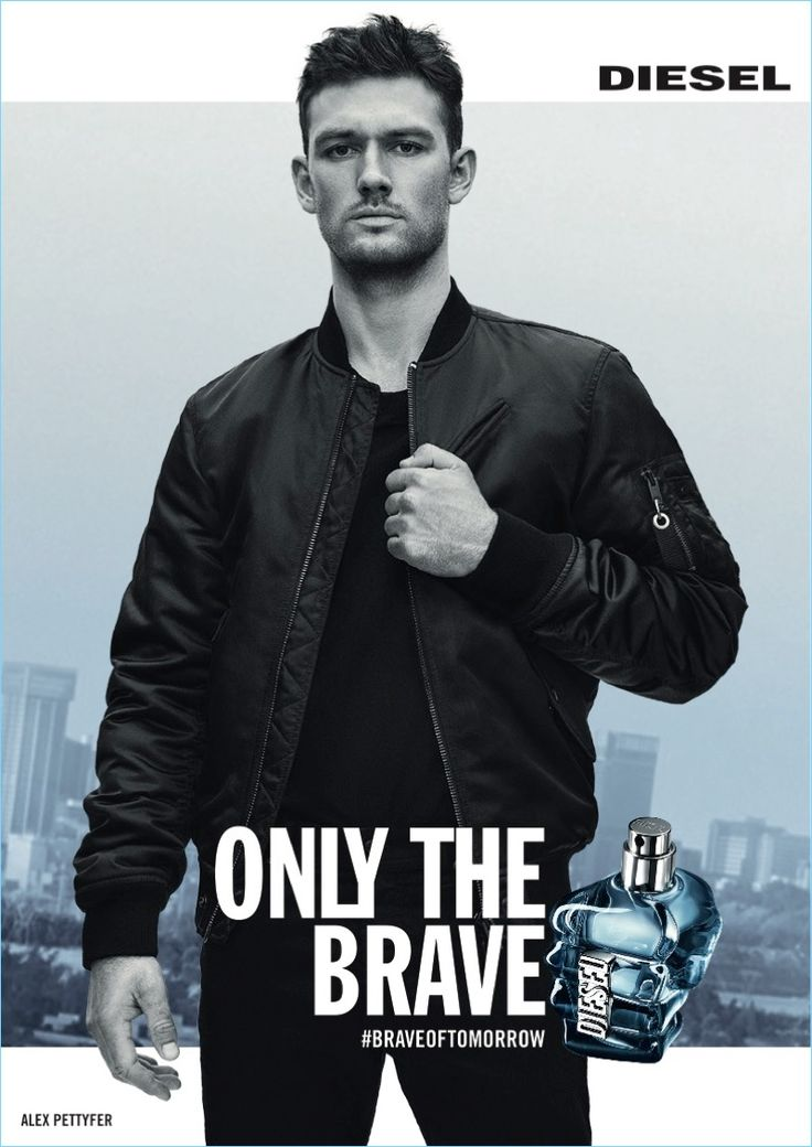 Alex Pettyfer stars in Diesel's new fragrance campaign for Only the Brave.