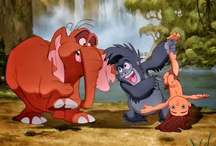 Little Terk, Tantor and Tarzan