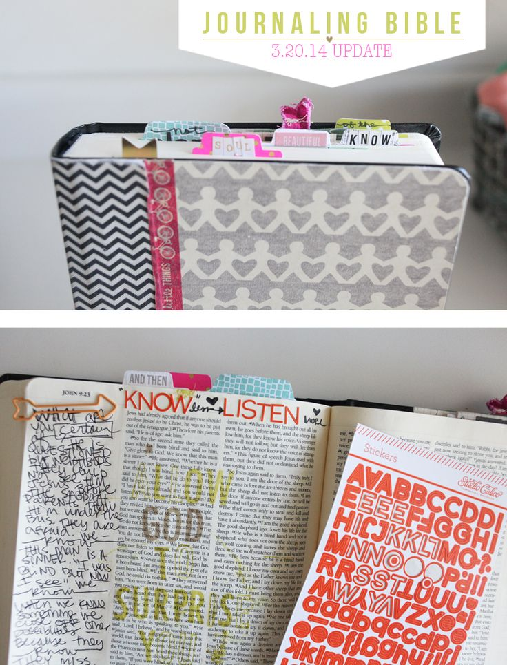 Do you have a journaling bible?