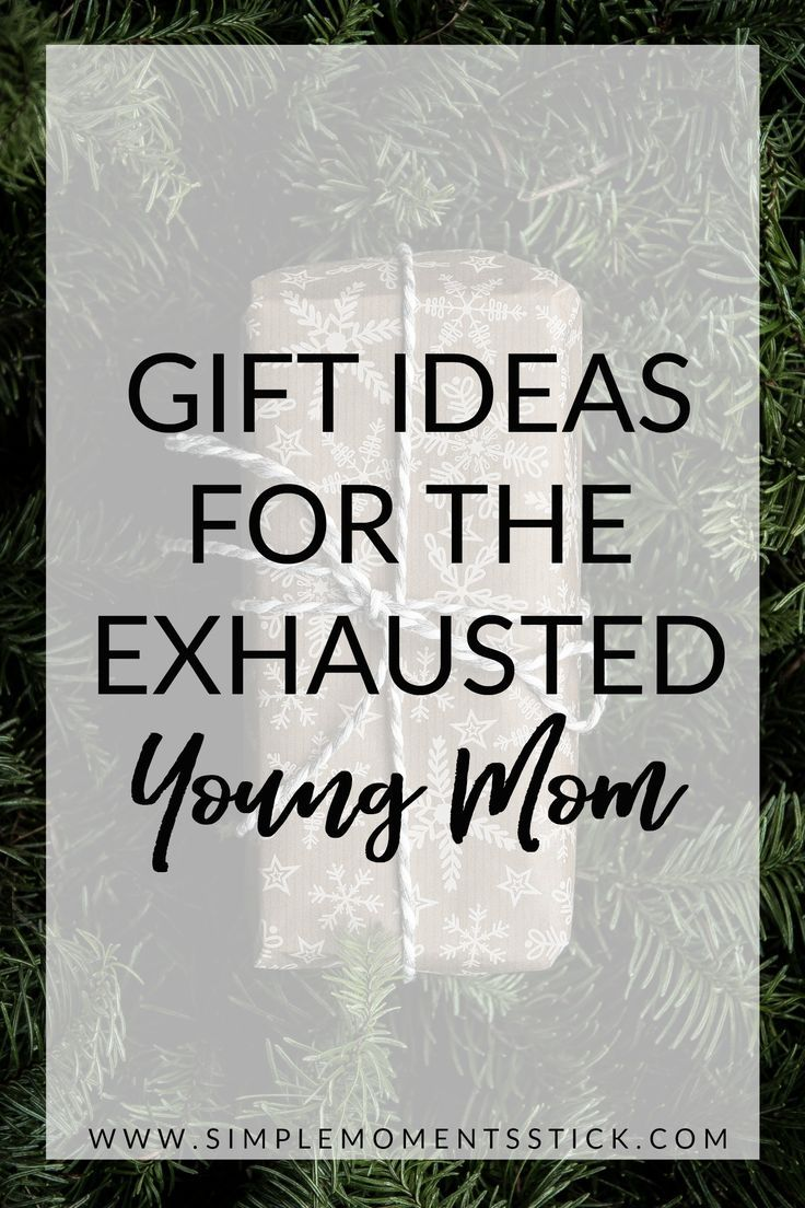The Best Christmas Gift Ideas For Young Moms Of Simple Moments Stick Gifts Paing Motherhood