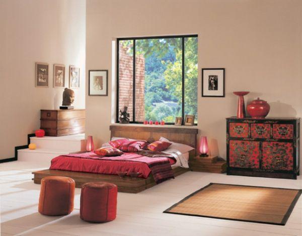 1000 id es sur le th me chambres de style asiatique sur. Black Bedroom Furniture Sets. Home Design Ideas
