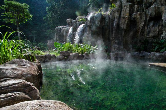 The Banjaran Hotsprings Retreat, 1 Persiaran Lagun Sunway 3, Ipoh, Perak Darul Ridzuan, Malaysia (00 60 5 210 7839; www.thebanjaran.com)