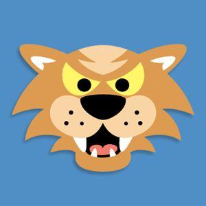 Masketeers Printable Masks: Printable Wildcat Mask
