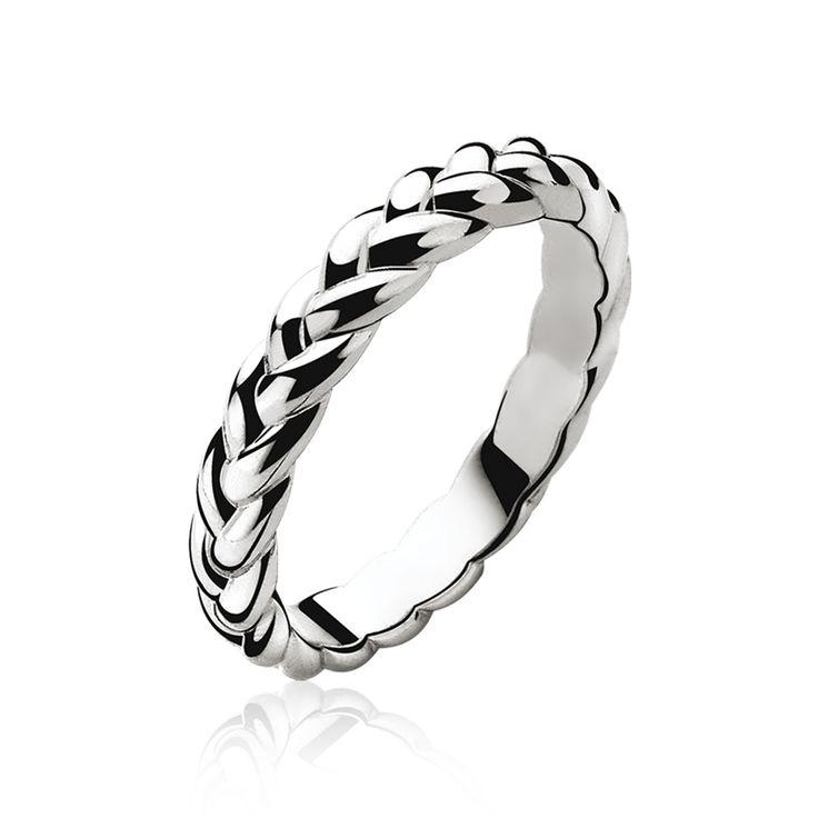 ZINZI zilveren ring zilver ZIR602
