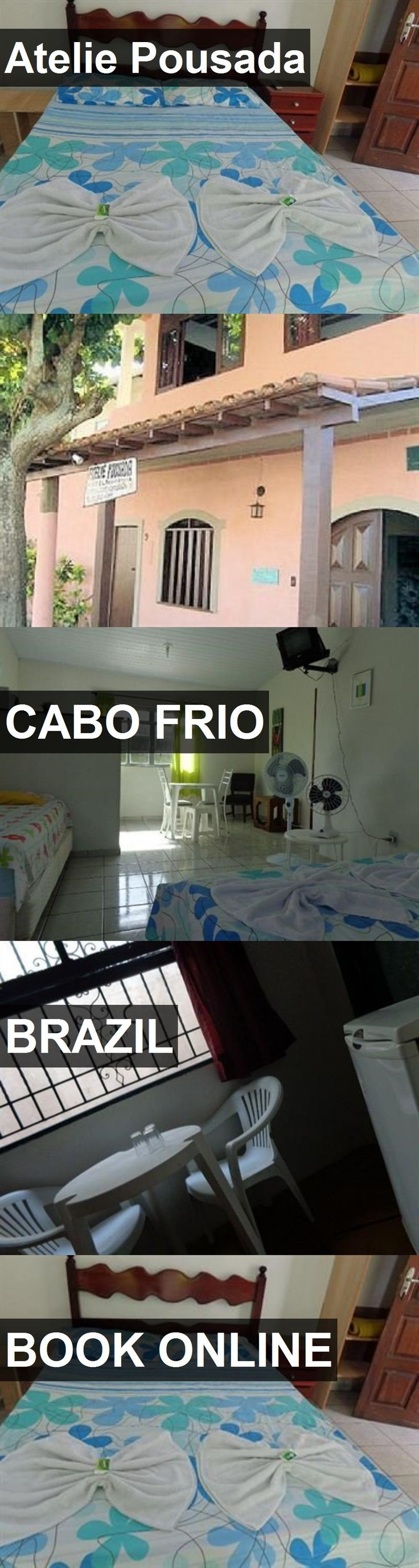 Hotel Atelie Pousada in Cabo Frio, Brazil. For more information, photos, reviews and best prices please follow the link. #Brazil #CaboFrio #travel #vacation #hotel