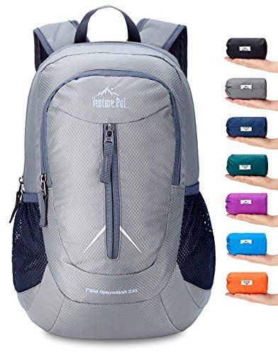 ce7f85330e22 Discounted Venture Pal 25L - Durable Packable Lightweight Travel Hiking  Backpack Daypack Small Bag for Men Women Kids (Grey)  02.